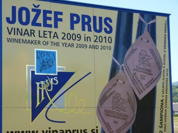 Jožef Prus from Krmačina the Winemaker of the Year for the Third Time